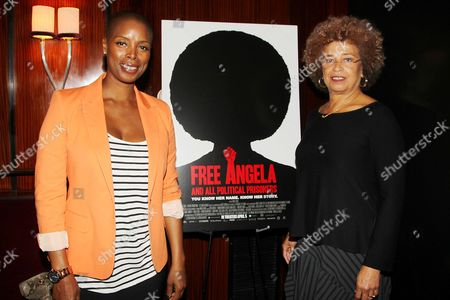 Sidra Smith (Producer) and Angela Davis