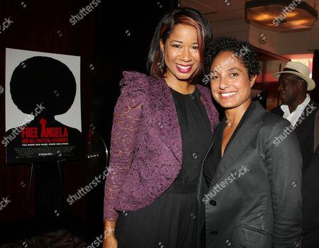 Paress Salinas and Shola Lynch (Director)