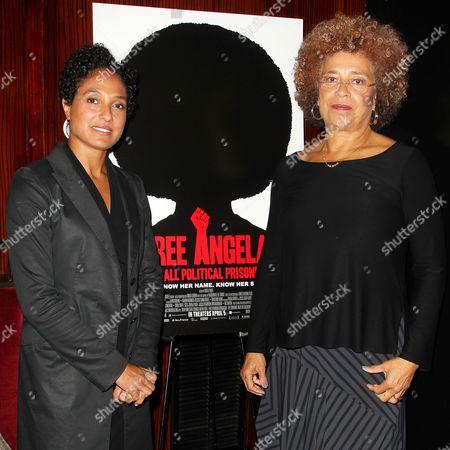 Shola Lynch (Director) and Angela Davis