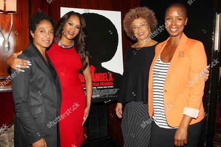 Shola Lynch (Director), Vivica A. Fox, Angela Davis and Sidra Smith