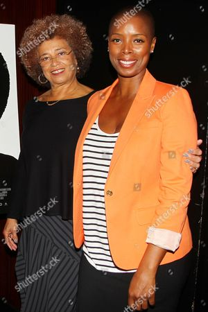 Angela Davis and Sidra Smith (Producer)