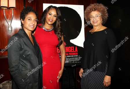 Shola Lynch (Director), Vivica A. Fox and Angela Davis