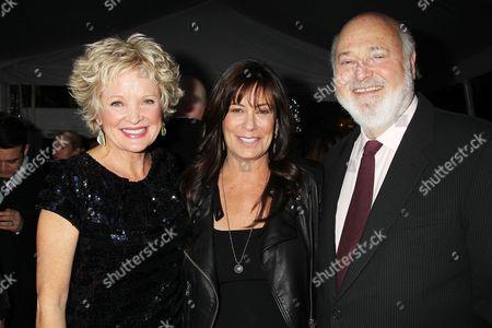 Christine Ebersole, Michele Singer Reiner and Rob Reiner