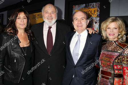Michele Singer Reiner, Rob Reiner, Philippe Dauman with Deborah Dauman