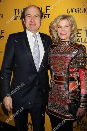 Philippe Dauman with Deborah Dauman