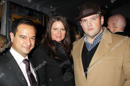 Riza Aziz, Emma Koskoff and Ethan Suplee