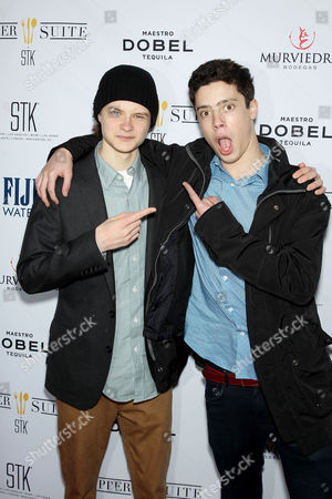 Charlie Tahan and Eric Tabach