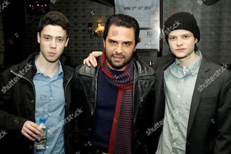 Stock Picture of Eric Tabach, Manny Perez and Charlie Tahan