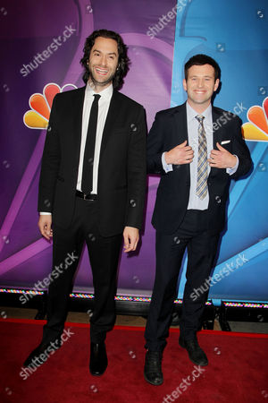 Chris D'Elia and Brent Morin
