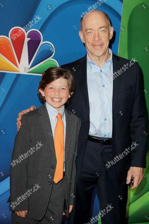 Eli Baker and JK Simmons