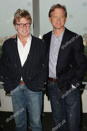 Robert Redford and Jamie Redford