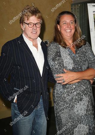 Robert Redford and Maro Chermayeff