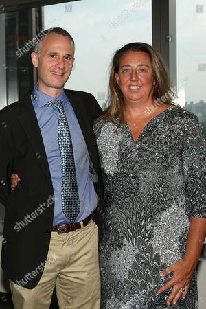 Stock Image of Micah Fink and Maro Chermayeff