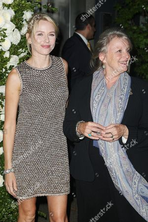 Naomi Watts and her mother Myfanwy Edwards