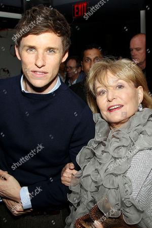 Eddie Redmayne, Barbara Walters