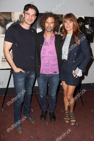 Steven Strait, Todd DiCiurcio and Megan DiCiurcio