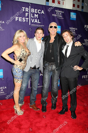 Suzette Snider, Cody Blue Snider, Dee Snider and Shane Royal Snide