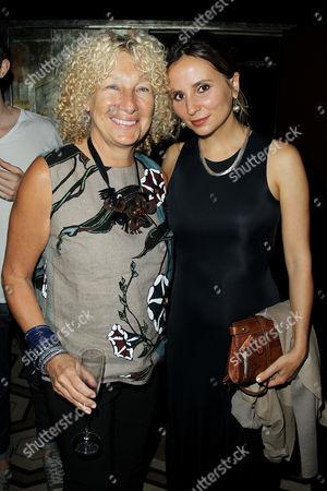 Stock Photo of Mary Jane Marcasiano and Petra Costa