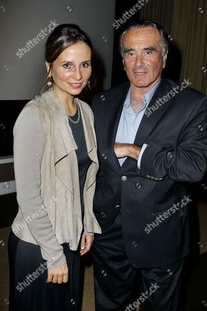 Petra Costa and Dan Hedaya