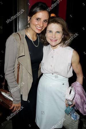 Petra Costa and Tovah Feldshuh