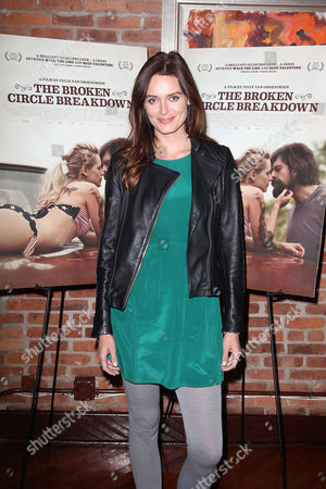 Editorial image of 'The Broken Circle Breakdown' film screening, New York, America - 30 Oct 2013