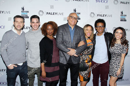 Rory Albanese, Ricky Velez, Holly Walker, Larry Wilmore, Robin Thede, Jordan Carlos, Grace Parra