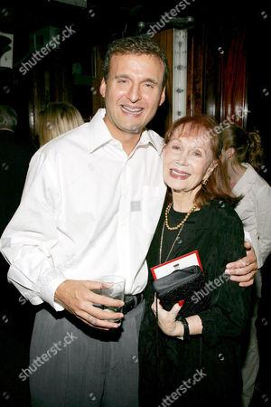Phil Rosenthal with Katherine Helmond