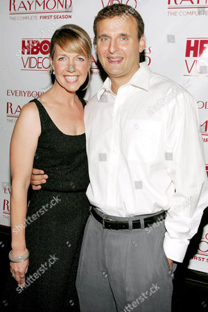 Monica Horan with Phil Rosenthal