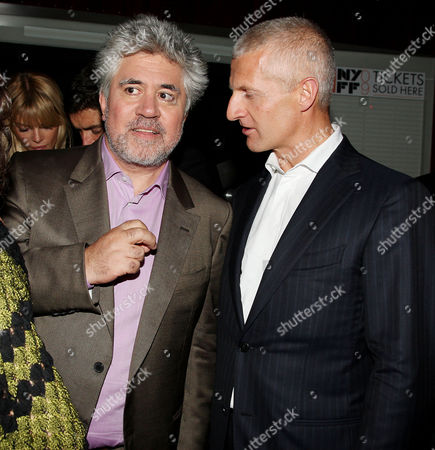 Pedro Almodovar (Director) and Andrea Illy (Chairman and CEO of illycaffe)