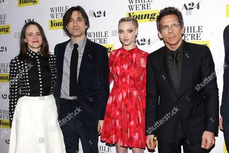 Maria Dizzia, Noah Baumbach (Director), Amanda Seyfried and Ben