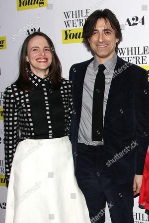 Maria Dizzia and Noah Baumbach (Director)