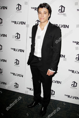 Editorial photo of 'The Raven' Film Screening, New York, America - 16 Apr 2012