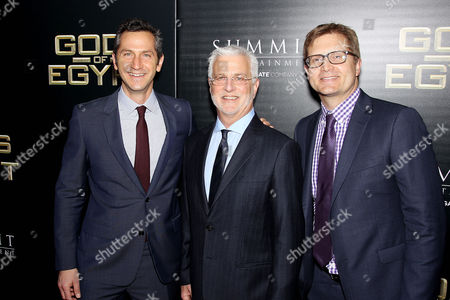 Erik Feig (Co-Chair Lionsgate), Rob Friedman (Co-Chair Lionsgate), Geoff Shaevitz (Pres. Production Lionsgate)