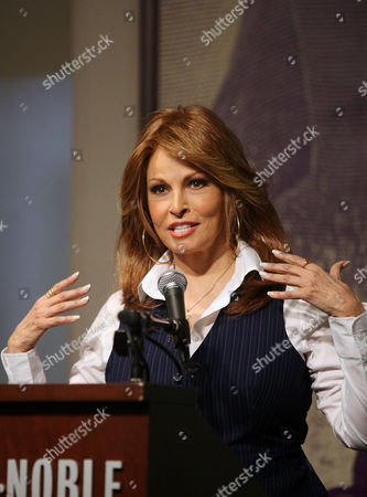 Editorial photo of Raquel Welch 'Beyond the Cleavage' book signing at Barnes and Noble, New York, America - 31 Mar 2010