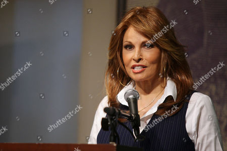 Editorial picture of Raquel Welch 'Beyond the Cleavage' book signing at Barnes and Noble, New York, America - 31 Mar 2010