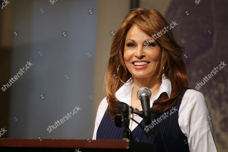 Editorial image of Raquel Welch 'Beyond the Cleavage' book signing at Barnes and Noble, New York, America - 31 Mar 2010