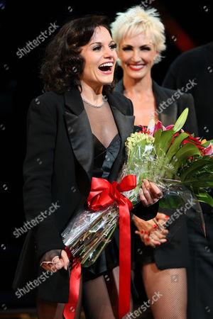 Kara DioGuardi and Amra-Faye Wright