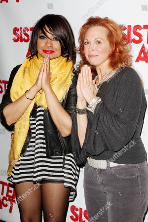 Raven-Symone and Carolee Carmello