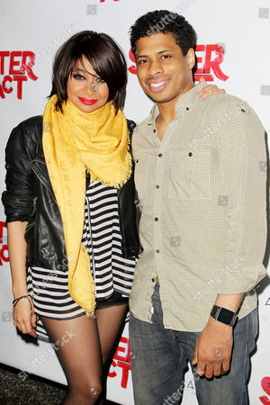 Stock Image of Raven-Symone and Chester Gregory