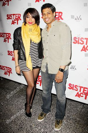 Stock Photo of Raven-Symone and Chester Gregory