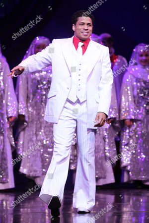 Editorial photo of 'Sister Act' musical show, New York, America - 27 Mar 2012