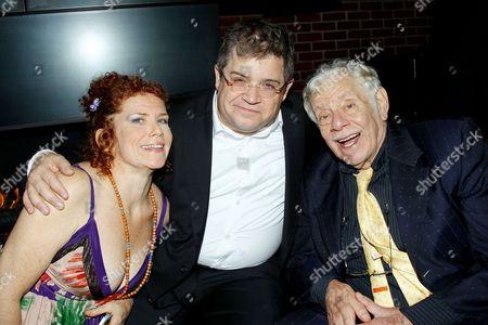 Amy Stiller, Patton Oswalt and Jerry Stiller