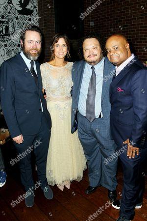 Jonathan C. Daly, Kristen Wiig, Adrian Martinez and Terence Bernie Hines
