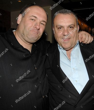 James Gandolfini and Vince Curatola