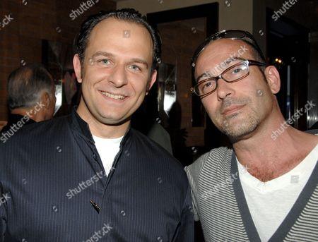 Stock Picture of Fabio Trabocchi (Fiamma Chef) and John Ventimiglia