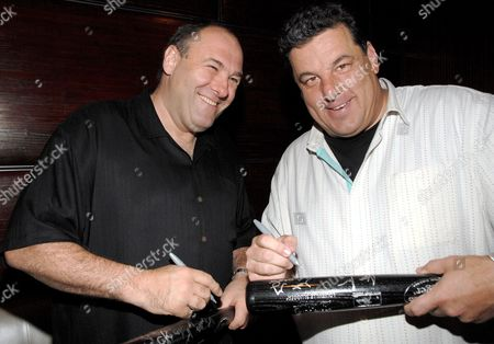 Editorial image of Cast of 'The Sopranos' Reunite at Fiamma to Raise Money for the Carol M. Baldwin Breast Cancer Research Fund, New York, America - 24 Jun 2008