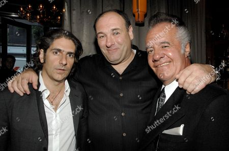 Michael Imperioli, James Gandolfini and Tony Sirico