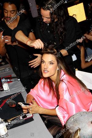 Editorial picture of Victoria's Secret Fashion Show Backstage, Lexington Armory, New York, America - 07 Nov 2012