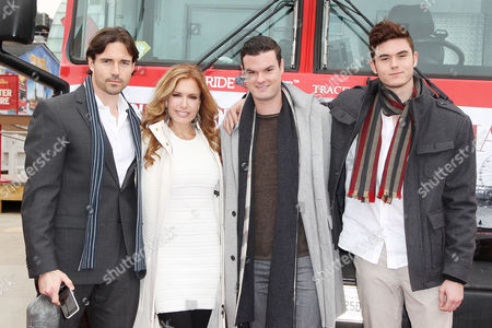 Editorial image of Tracey Bregman honored by Ride of Fame, New York, America - 07 Apr 2014