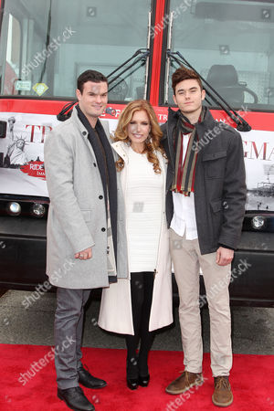 Tracey E Bregman with sons Austin Recht and Landon Recht